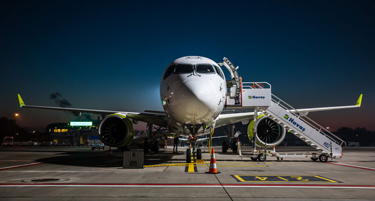 airBaltic into the teens with A220-300