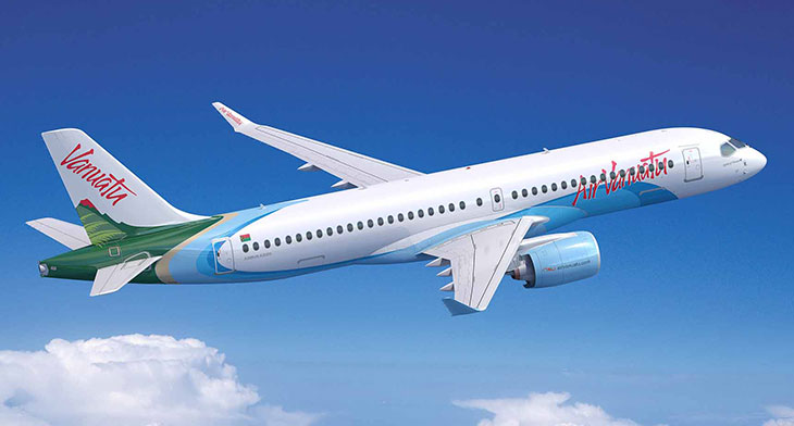 Air Vanuatu selects Airbus A220 for fleet expansion