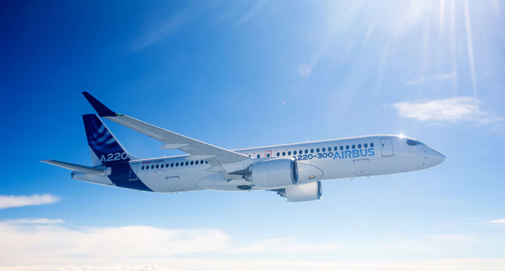 Airbus A220 to be given Russian certification