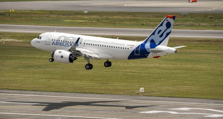 Airbus A319neo with PW1100G engines gains EASA Type Certification