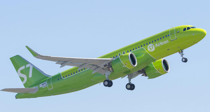 S7 Airlines to retire its Airbus A319 fleet f..