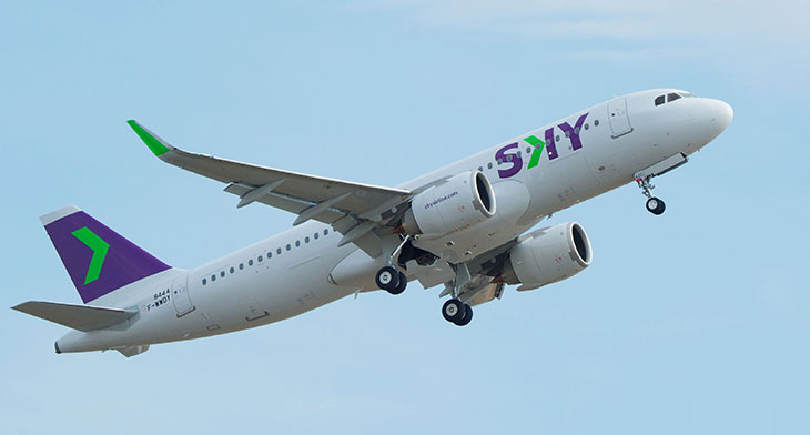 SKY Airline gains permit for routes in Peru