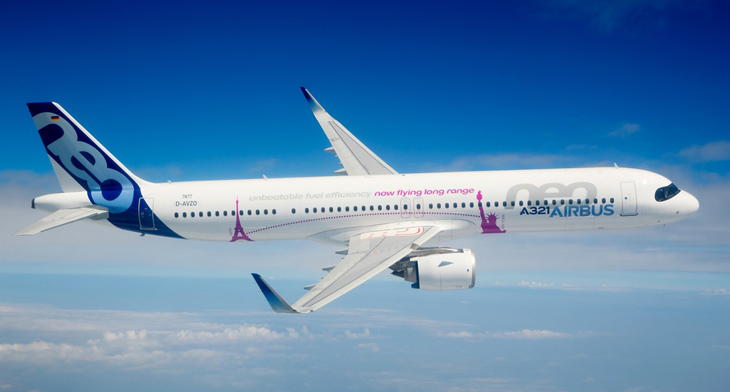EASA and FAA certify long-range capability for A321neo