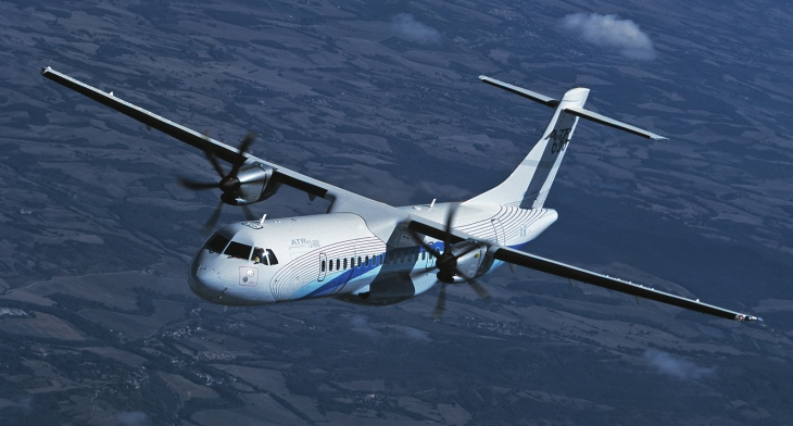 ATR clinches sale of -600 turboprop trio