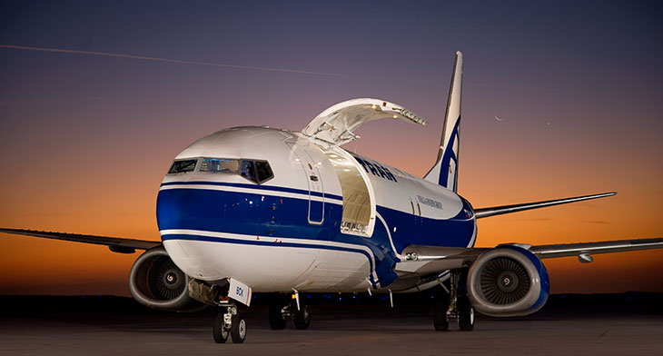 Russia's Atran Airlines receives converted Boeing 737-800BCF
