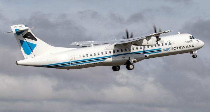 First ATR 72-600 for Air Botswana