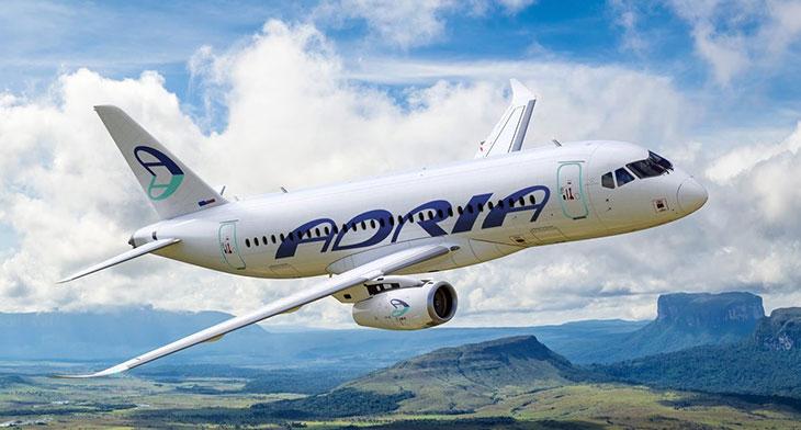 Adria Airways temporarily suspends flight operations