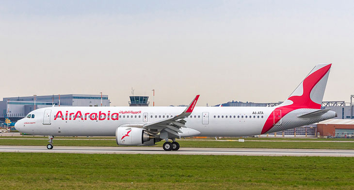 Air Arabia welcomes its first A321neoLR