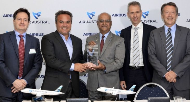 Air Austral sign with Airbus for three A220s
