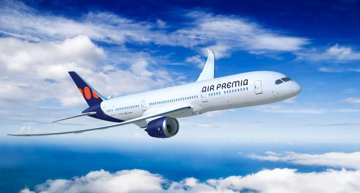 Air Premia plans to buy five Boeing 787-9 Dreamliners
