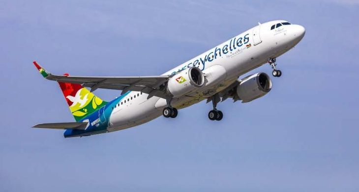 Air Seychelles receives its first A320neo