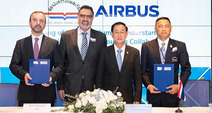 Airbus and Thailand's CATC sign trainin..