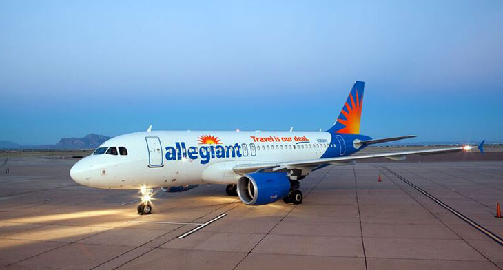 Allegiant to establish two-aircraft base in Grand Rapids