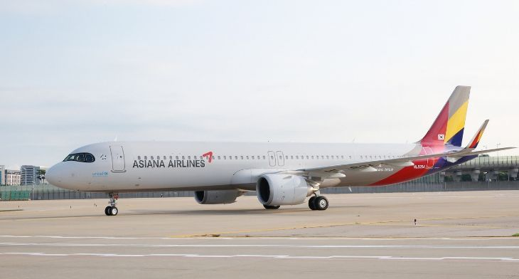 Lufthansa Technik support for Asiana Airlines A320 fleet