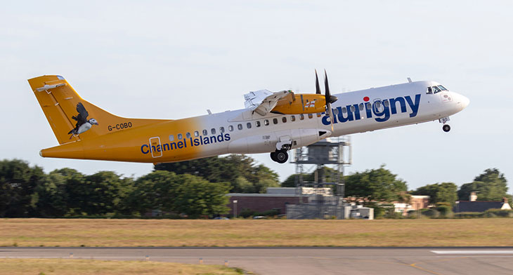 New daily routes for Aurigny