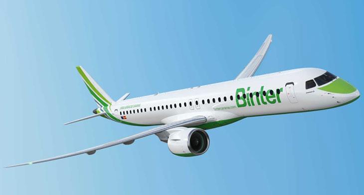 Binter unveiled as first European E195-E2 operator