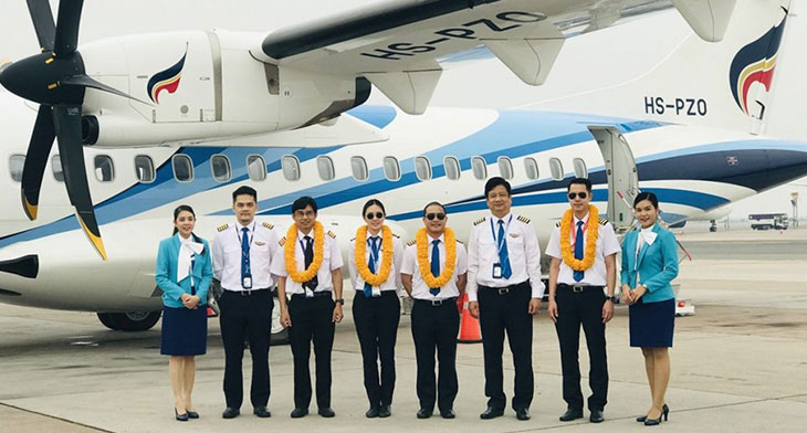 Bangkok Airways welcomes new ATR 72-600