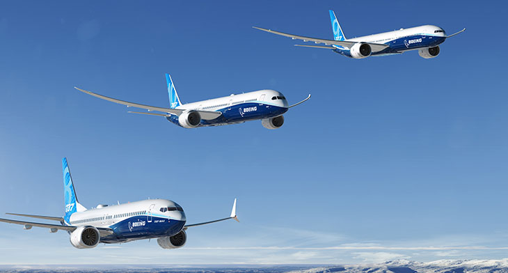 Boeing reports record 2018 results