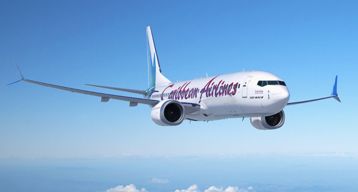 Caribbean Airlines opts for Boeing 737 MAX 8