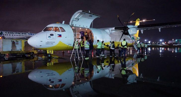 Cebu Pacific receives its first ATR 72-500 ca..