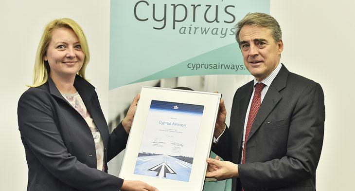 IATA status for Cyprus Airways