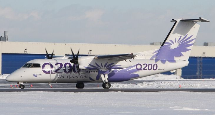 Elix Aviation Capital delivers Dash 8-202 to Field Aviation Company Inc.
