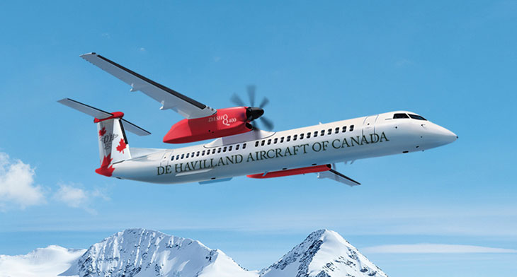 PAS19: De Havilland Canada opts for Expliseat as optional feature for Dash 8-400