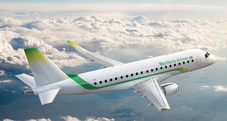 MROAM 2019: Embraer signs Pool Program Agreement with Mauritania Airlines