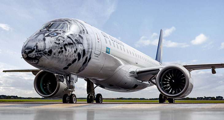 Air Astana and Embraer sign E2 Pool Program contract