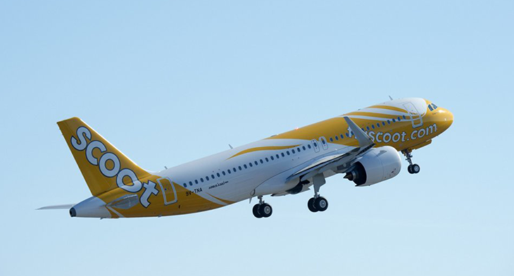 Scoot takes delivery of its first A320neo