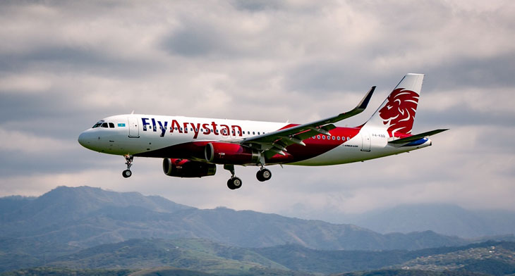 Air Astana's new LCC FlyArystan takes to the skies