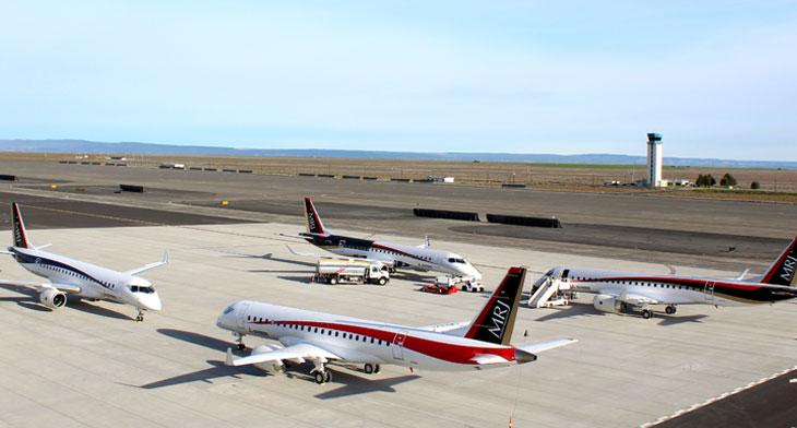 Mitsubishi Aircraft Corporation America heads..