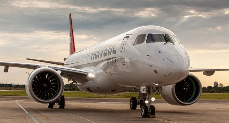 Helvetic Airways receives its first E190-E2