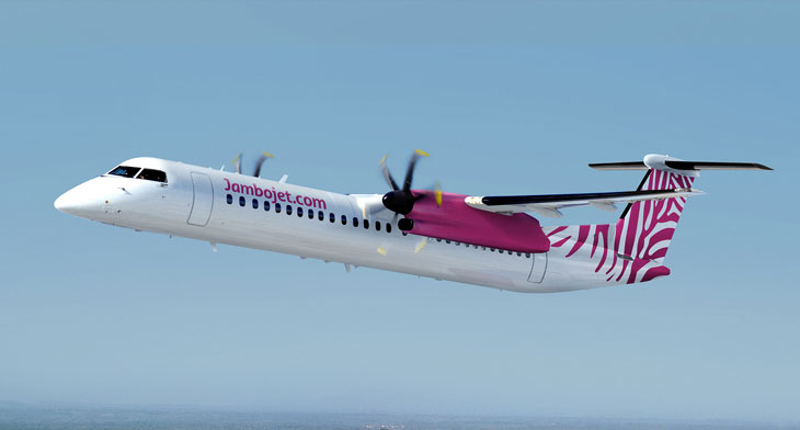 Elix delivers second Q400 to Jambojet