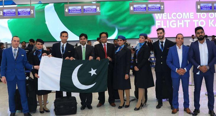 Jazeera Airways launches flights to Karachi