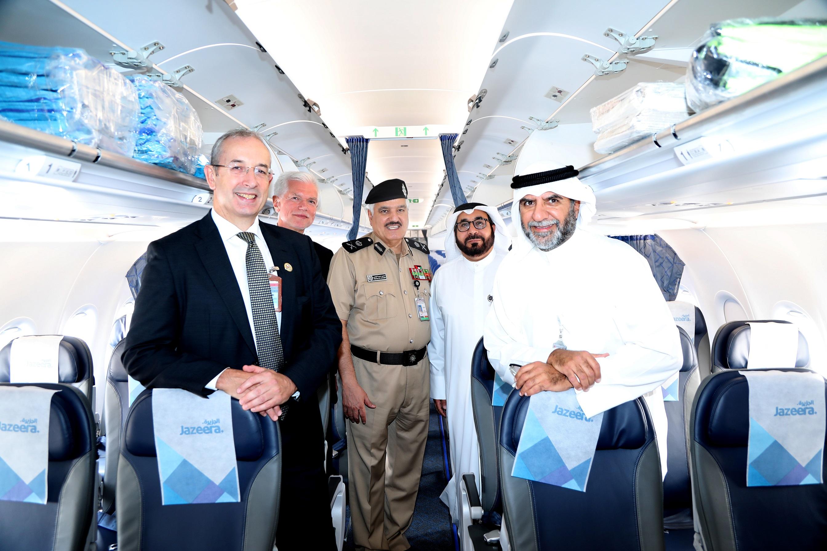Jazeera Airways launches first flight to London