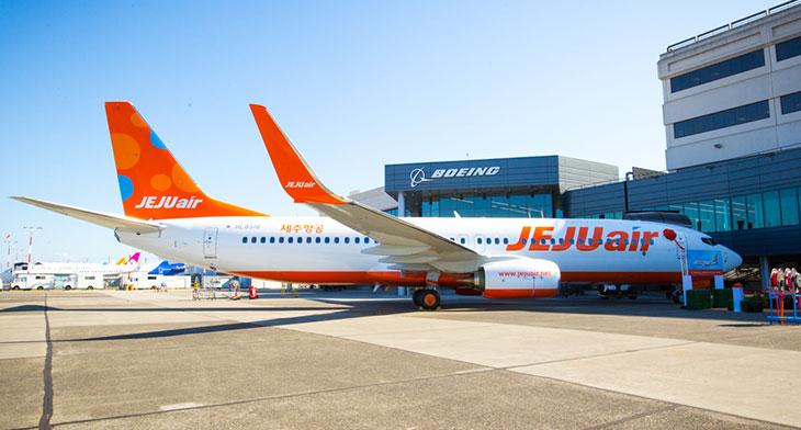 Jeju Air takes first direct B737-800NG