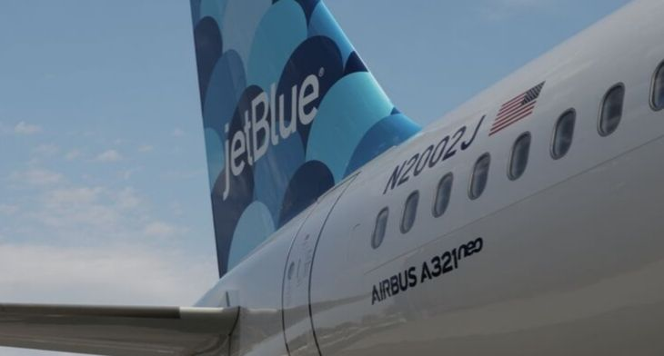 JetBlue's first A321neo enters scheduled service