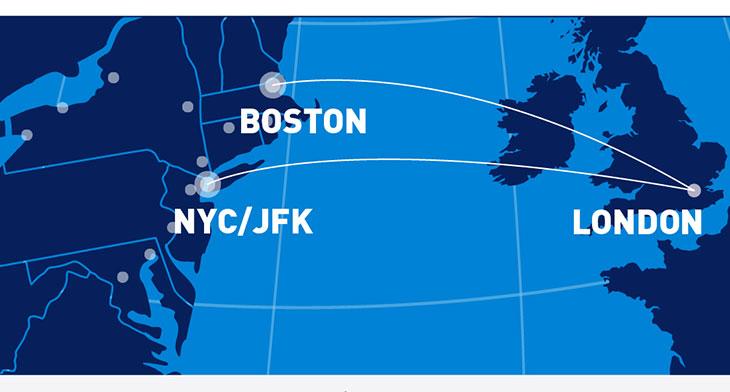 JetBlue plans to launch London flights