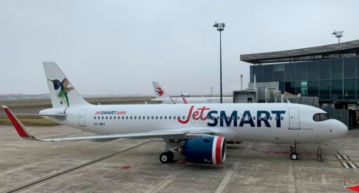 SMBC delivers first Airbus A320neo to JetSMART