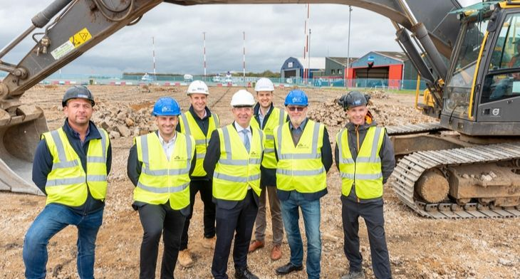 KLM UK Engineering at Norwich Airport breaks new ground