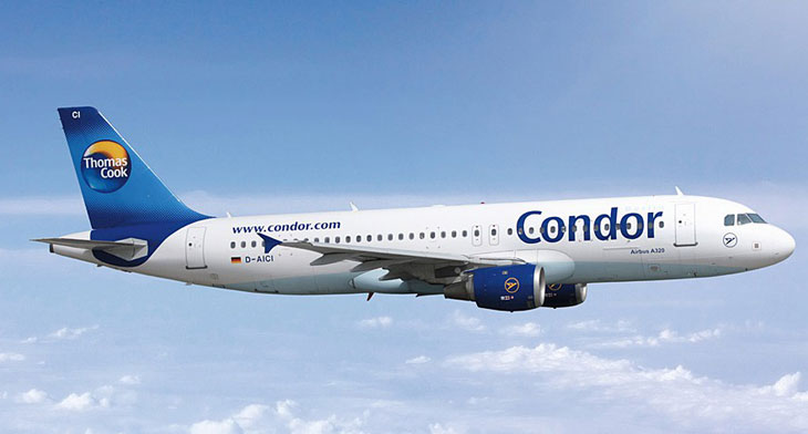 Thomas Cook's subsidiary Condor offered..