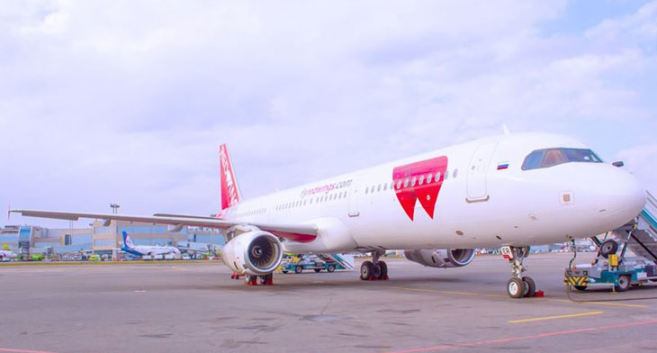 Re-paint for new Red Wings Airbus