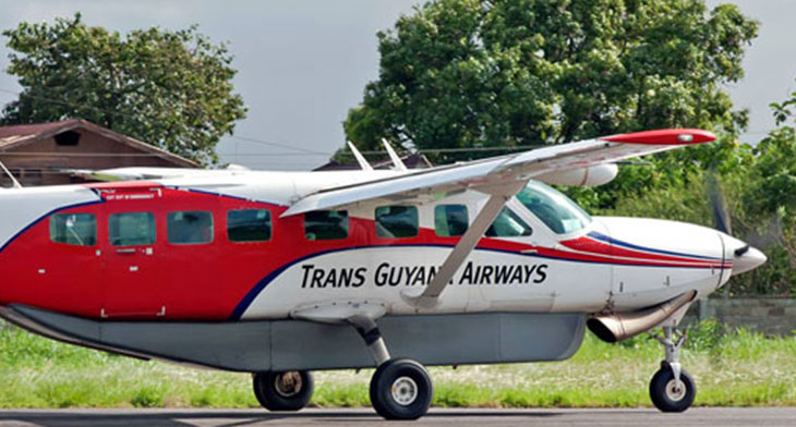 Pure gold for Trans Guyana Airways