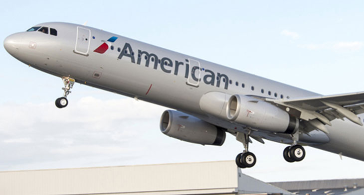 New A321neo for American Airlines