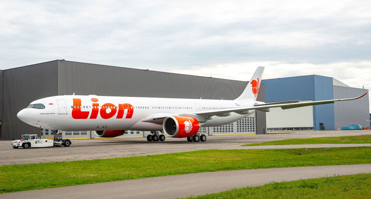 First A330neo for Lion Air