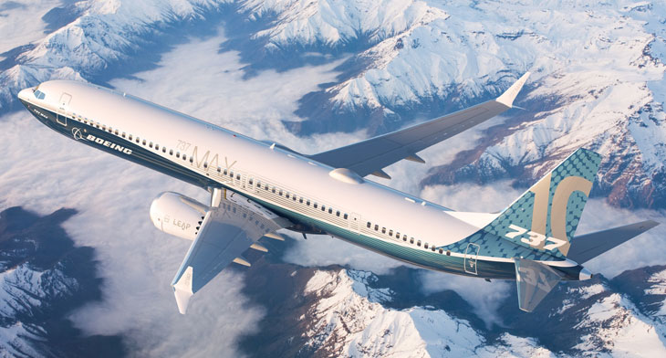 Singapore Airshow – Boeing hits MAX 10 mile..