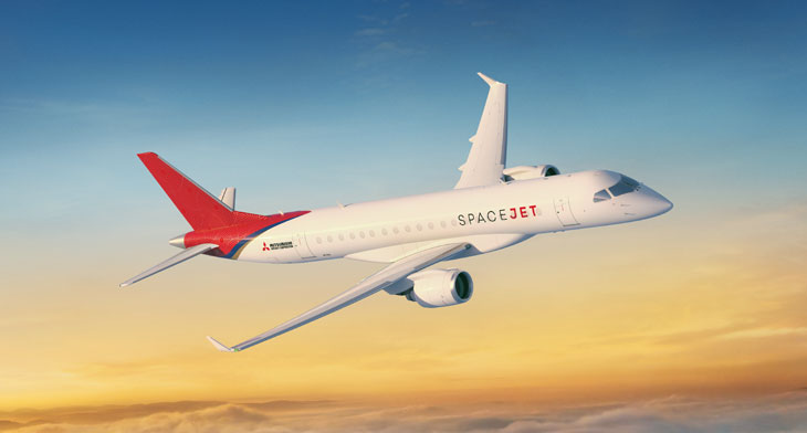 PAS19: Mitsubishi signs MoU with North American airline for 15 SpaceJet M100s