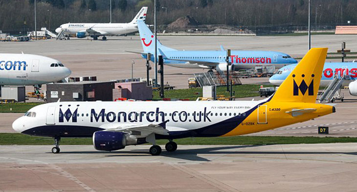 Monarch Aircraft Engineering goes under