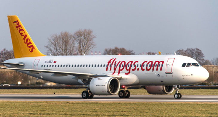 New A320neo lands with Pegasus Airlines